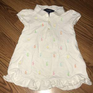 Multi color Ralph Lauren Polo shirt/dress